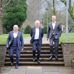Park life offers new outlook for Stephens Wilmot Solicitors after office move from industrial setting - peter downescentre of mamhilad park estate with l to r rob stephens and daniel wilmot of stephens wilmot solicitors - Mamhilad Park Estate
